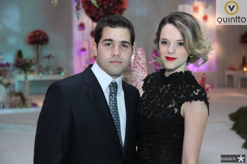Felipe Rocha e Paula Sampaio