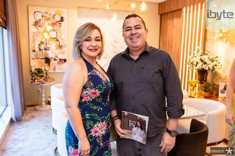 Juliana Emidio a e Marcelo Sobreira