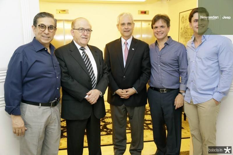 Javier Yugar, Jaco Lawinski, Marcos Avila, Andre e Diego Juca