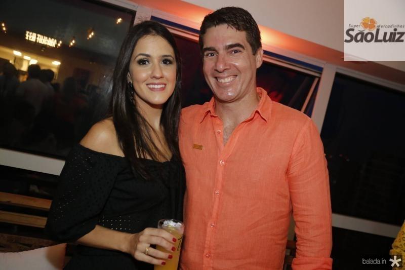 Nicole Machi e Fred Menezes