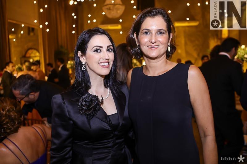 Ticiane Firmesa e Cecilia Seligmann