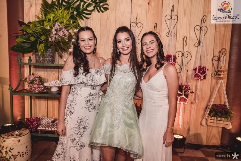 Katarina Moreira, Sofia Leal e Luana de Castro
