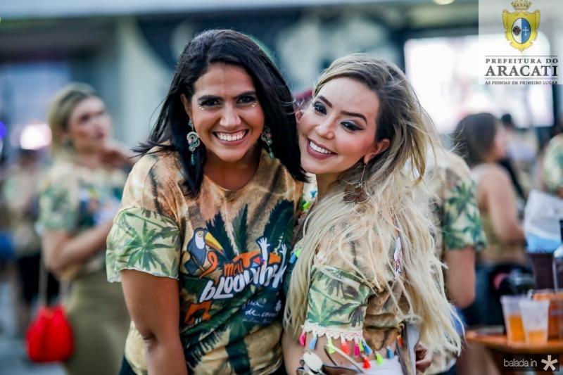 Janyde Castro e Adiana Gomes