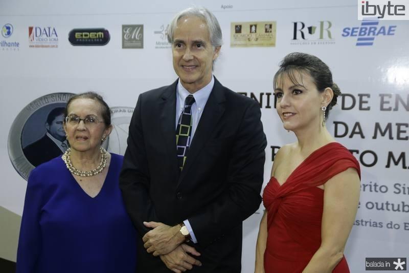 Zenilde Matoso, Marcos Pompeu e Circe Jane