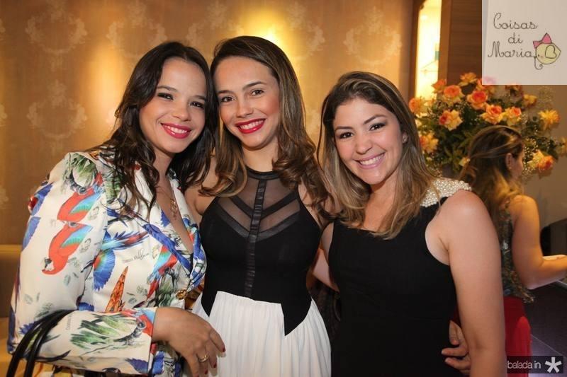Waleska e Vanessa Soares e Vanessa Queiroz