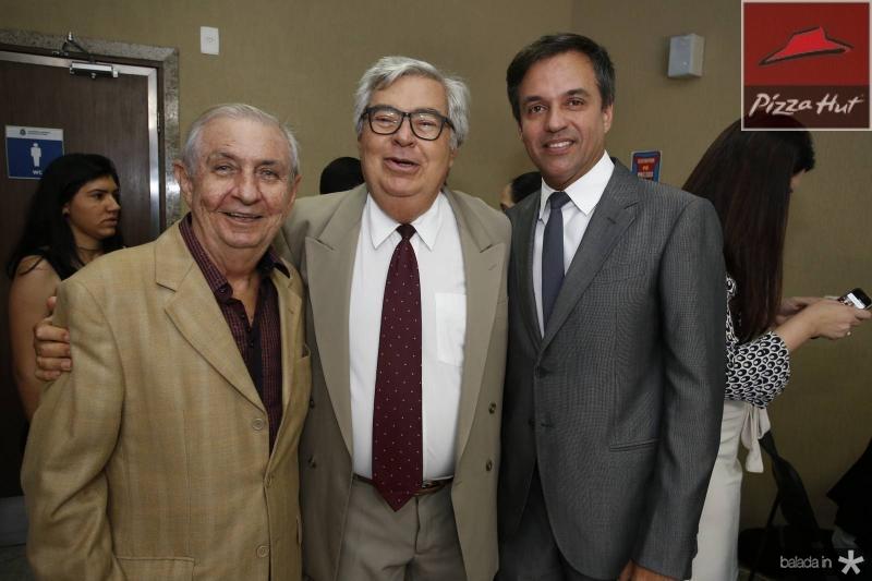 Alvaro Correa, Roberto Farias e Fernando Novaes