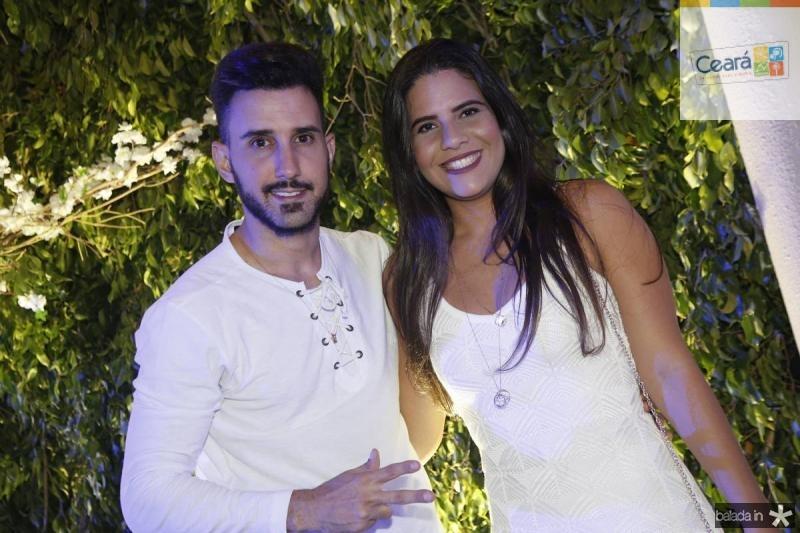 Miguel Maias e Leticia Raquel