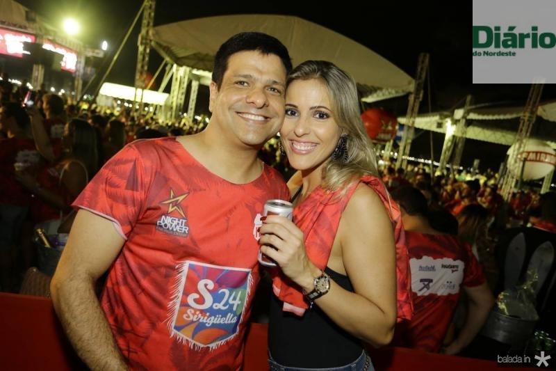 Duda Soares e Valeschka Catonho