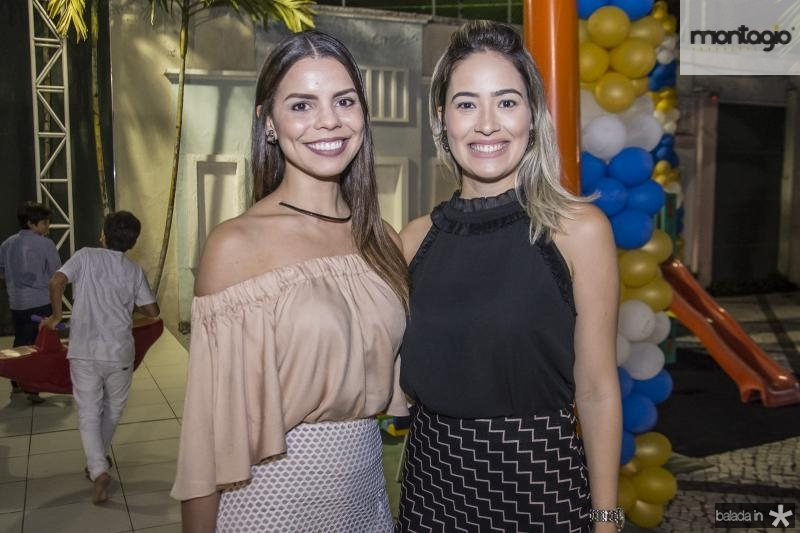 Bruna Braga e Larissa Magalhaes