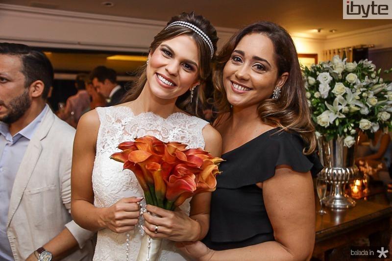 Mariana Pinto e Tina Camara