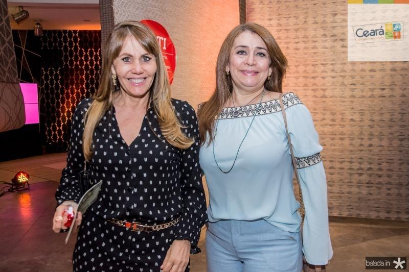 Lucia Leiva e Rita Feitosa