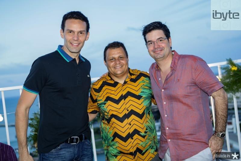 Marcio Canamary, Fernando Braga e Andre Pires