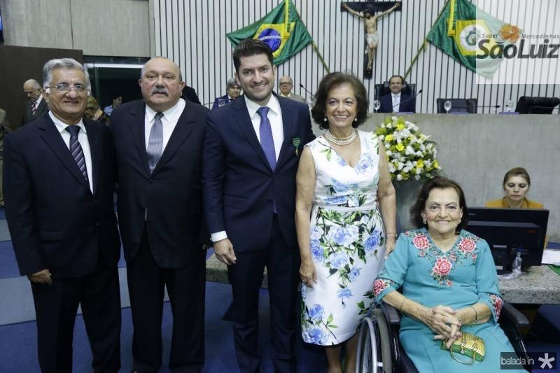Sergio Benevides, Fernando Hugo, Paulo Jose e Ines Benevides e Maria Alice