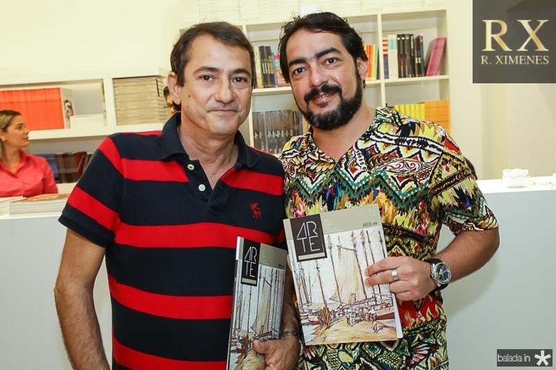 Claudio Quindere e Roger Tabosa