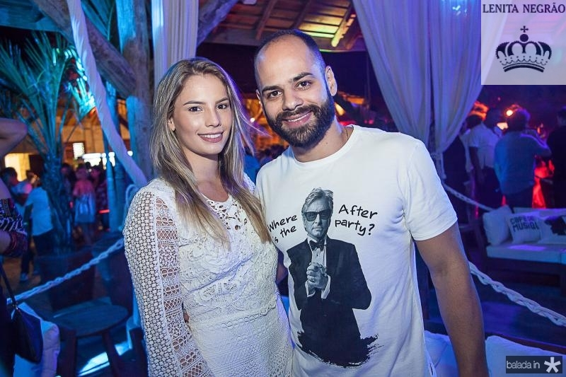 Sabrina Marques e Paulo Ximenes