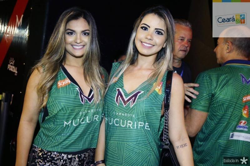Loraine Fontenele e Fernanda Lima