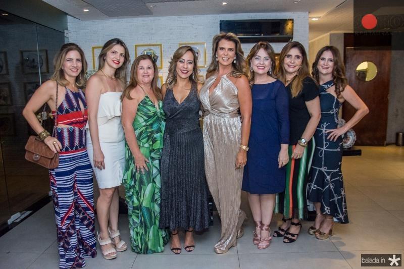 Karmilse Marinho, Adriana Arrais, Leticia Macedo, Alexandra Pinto, Erica Girao, Cristiane Figueiredo e Adriana Bezerra