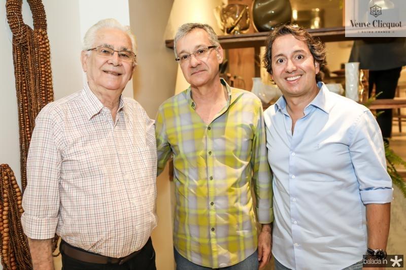 Jose Mendes, Fernando Jorge e Rodrigo Parente