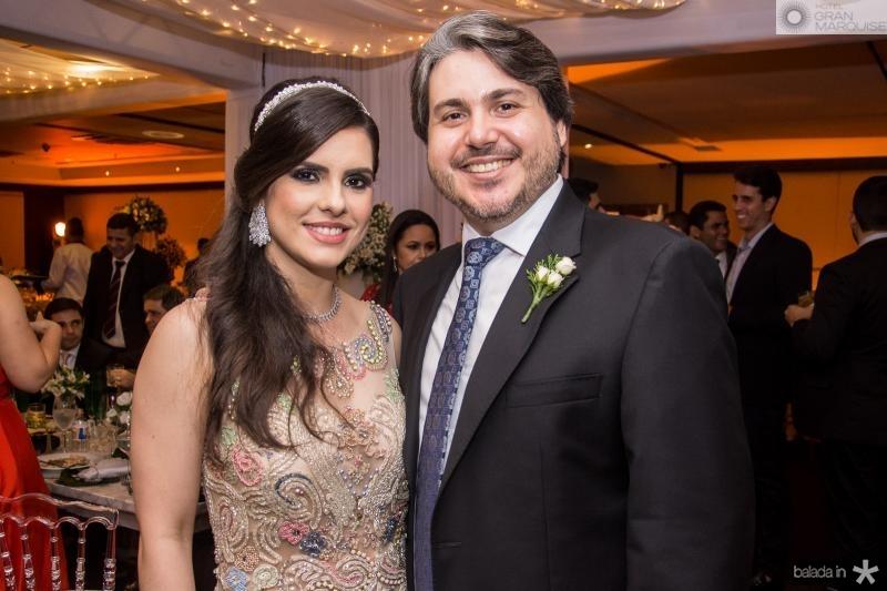 Claudia e Bosco Filho Rios