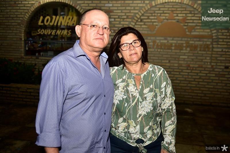 Jose Evangelista (Dede) e Maria Aparec