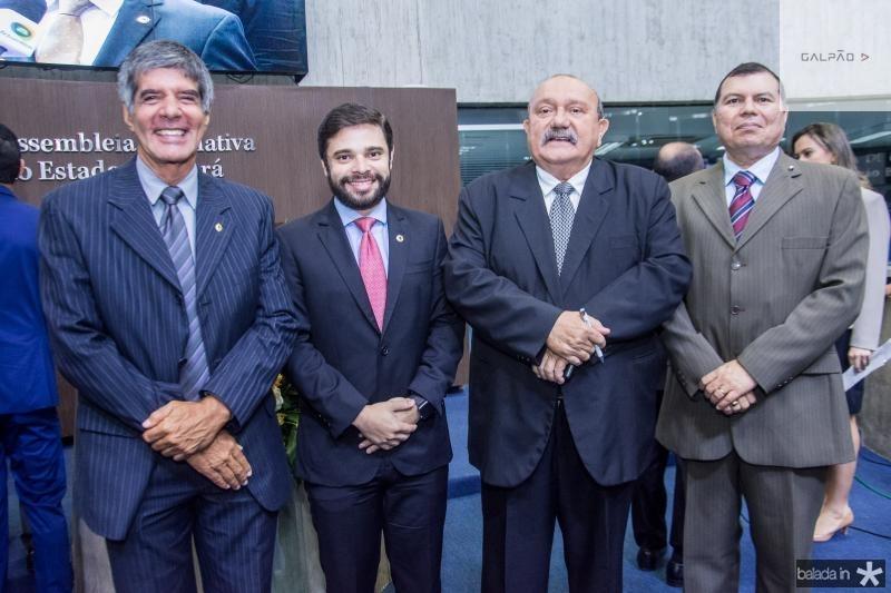 Luis Benicius, Julio Cesar, Fernando Colares e Duarte Frota