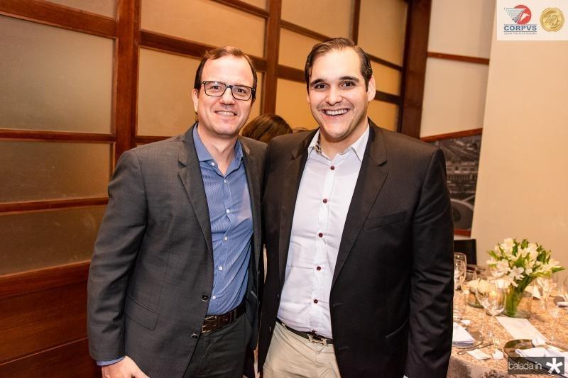 Gian Franco e Marcelo Tavares