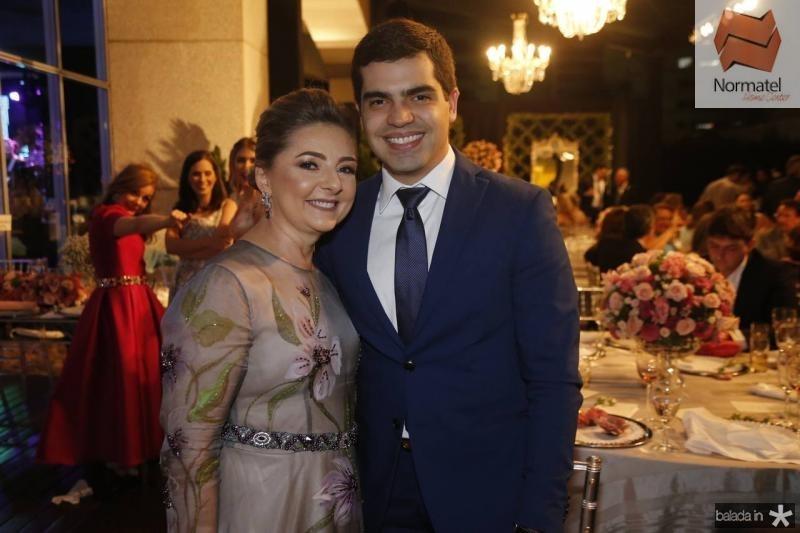 Rosangela Linhares e Pedro Garcia
