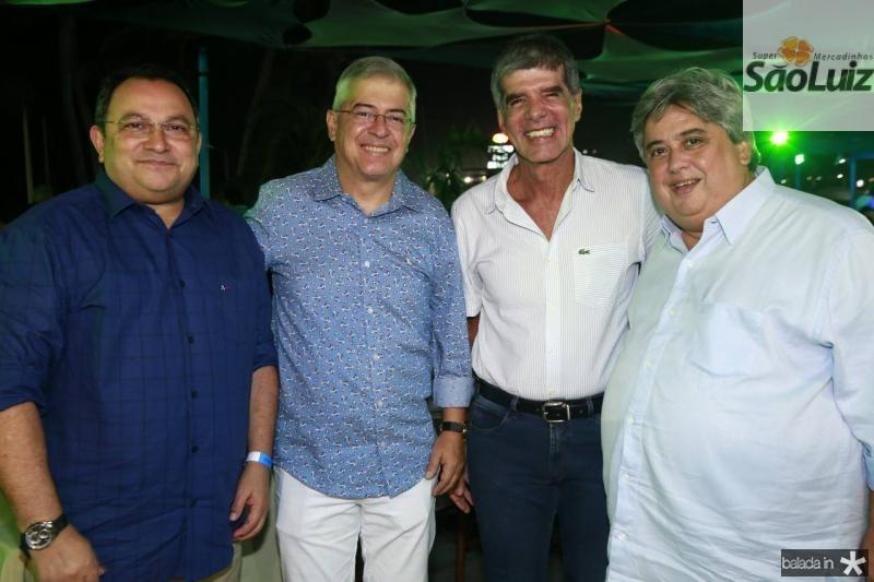 Moacir Maia, PC Noroes, Coronel Luiz Benicio e Claudio Cruz