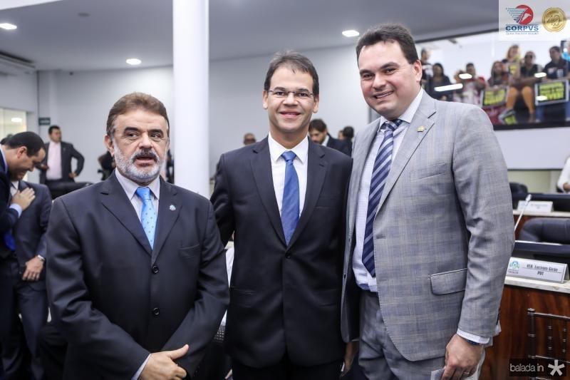Azevedo Vieira, Marceli Pinheiro e Regis Tavares