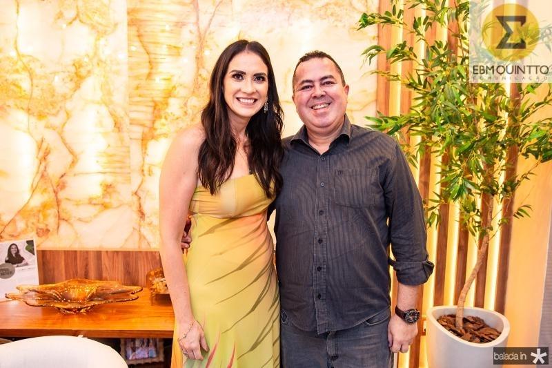 Luciana Carioca e Marcelo Sobreira
