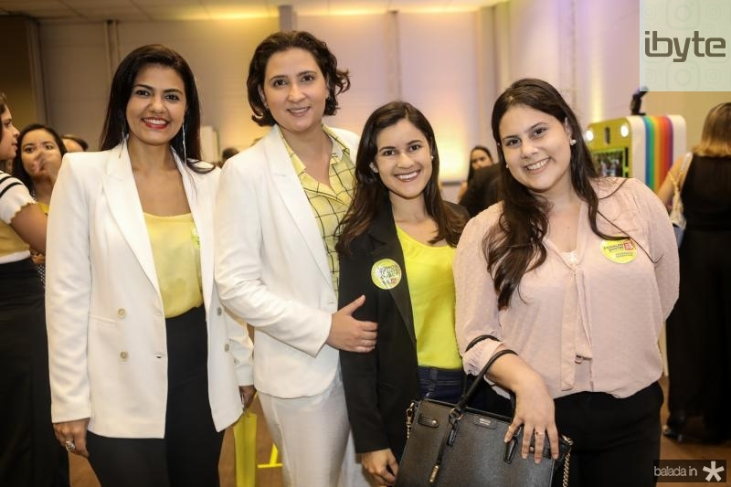 Elisabeth Ramos, Thais Filisola, Vanusa Soares e Mayara Paiva