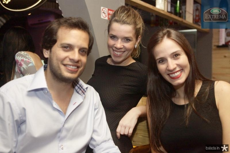 Wilton Correia, Lorena Machado e Bianca Andrade