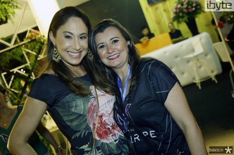 Larissa Coelho e Sandra Bezerra
