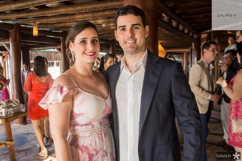 Mariana e Erick Parente