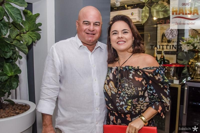 Luciano e Denise Cavalcante