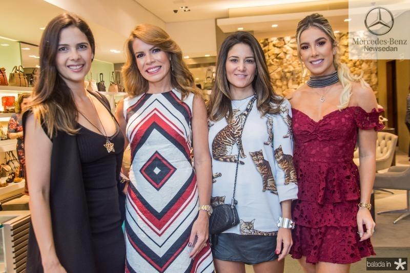 Joana Ramalho, Maira Silva, Aline Pinho e Priscilla Silva