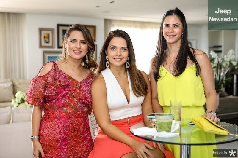 Renata Dias, Rafaela Pessoa, Carol do Ceará