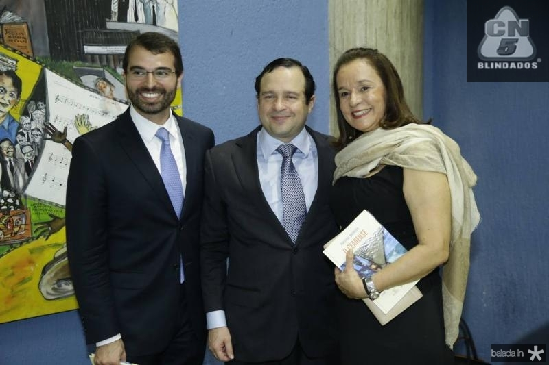 Thomaz Figueiredo, Igor Barroso e Candida Figueiredo