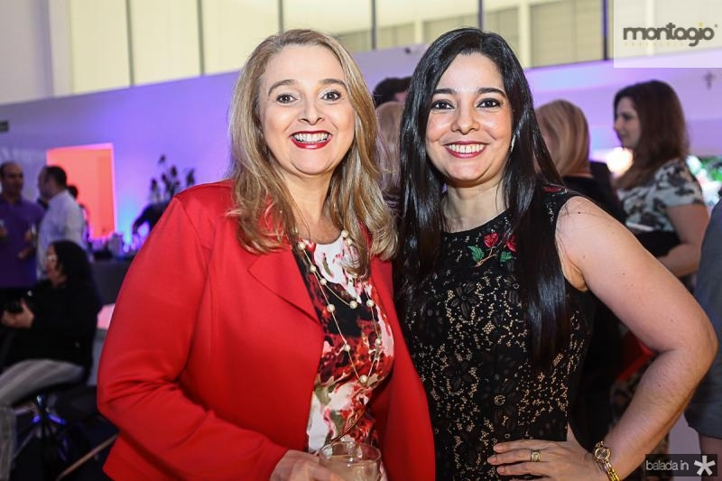 Helena Demes e Vania Negromonte