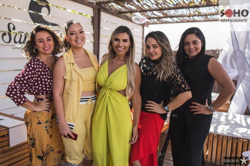 Dayana Farias, Luana Quintela, Grazi Nogueira, Karina Mota e Lady Mota