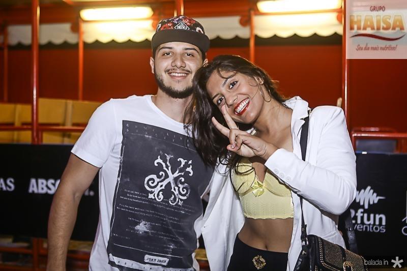 Flavio Henrique e Luna Victoria