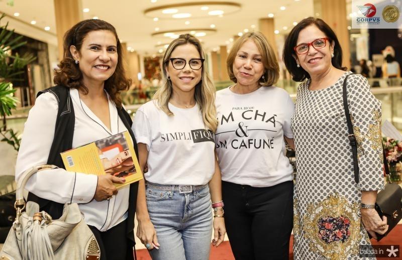 Marcia Teixeira, Mirella Rocha, Marcia Freire e Eluza Laprovitera
