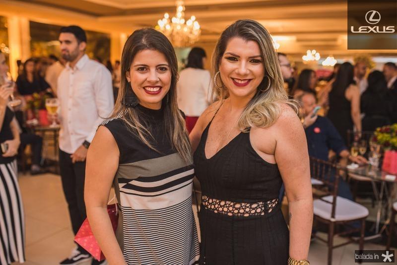 Priscila Vasconcelos e Mariana Pontes