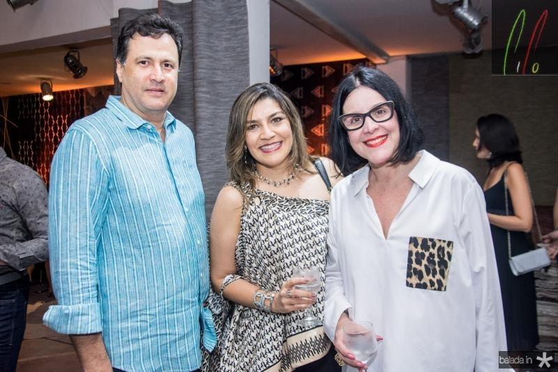 Ricardo Lopes, Daniele Lopes e Patricia Alkary