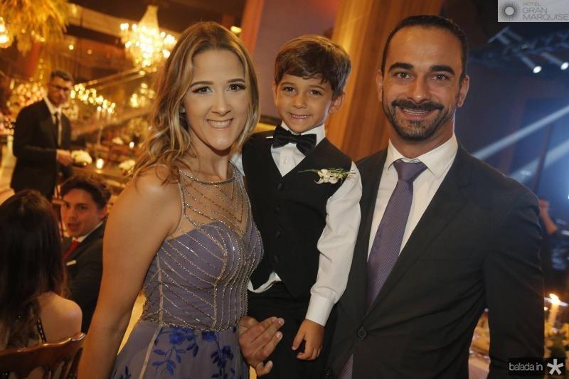Rita Landim, Lucas e Marcio Verissimo