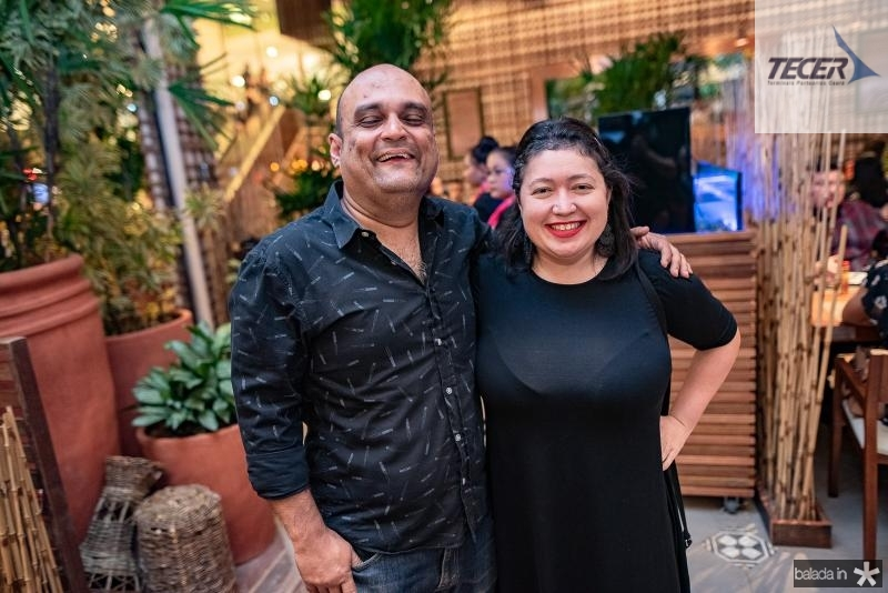 Marcello Rorra e Paulla Pinheiro