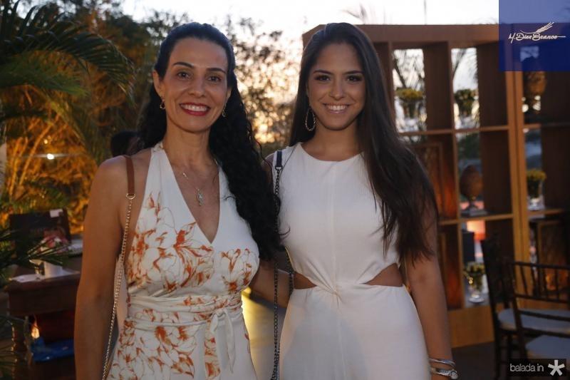 Fernanda Zebalos e Mila Twardy