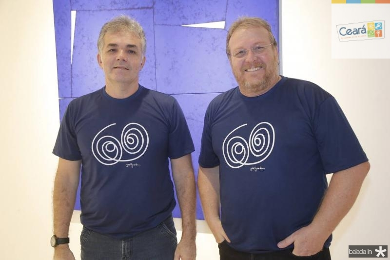 Paulo Calheiros e Sergio Albuquerque
