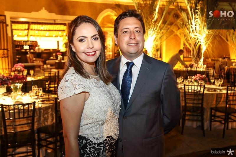Mara Barreira e Igor Apolinario
