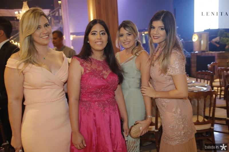 Renata e Isabela Bastos, Patricia Gomes e Nathalia Bastos